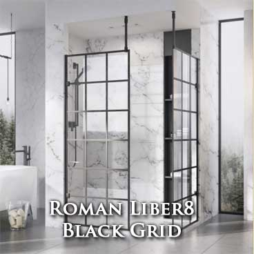 BLACK GRID shower