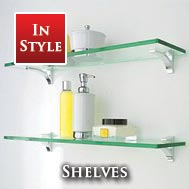 Bathroom Shelves & Glass Shelves