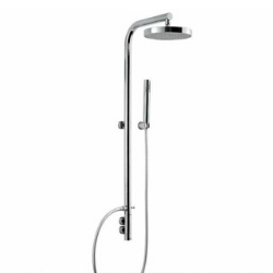 thermostatic shower post