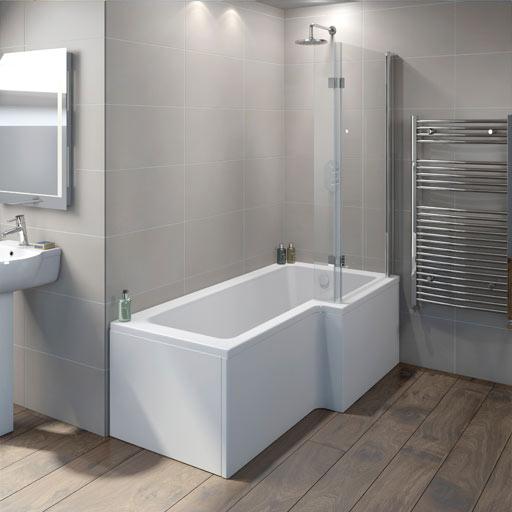 Shower Baths   P Shape Shower Baths   L Shape Shower Baths