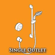 Single Outlet Digital Showers