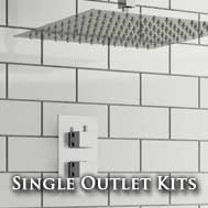 Single Head Concealed Shower Kits