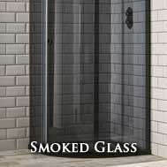 smoked and tinted quadrant shower enclosures