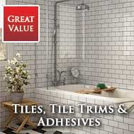 Tiles, Tile Trims and Tile Adhesive