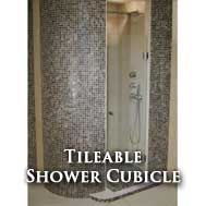 Tileable Shower cubicle