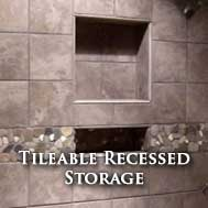 Tileable Recessed Storage