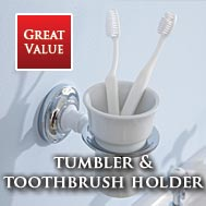 Tumblers and tooth brush holders