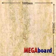 Travertine Matt pvc bathroom wall boards