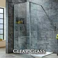 Clear Glass Wetroom Panels