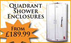 Quadrant Shower Enclosures From 189.99