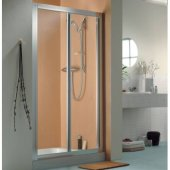 Roman Showers Collage Bi-Fold Shower Door 760mm Silver