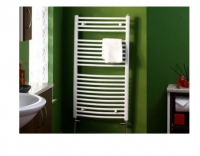Wendover White Straight Towel Rail - 360 x 400mm