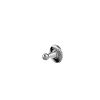 Arcade Traditional Robe Hook - Chrome