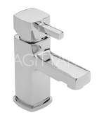 Sagittarius Axis Monobloc Basin Mixer with Sprung Waste