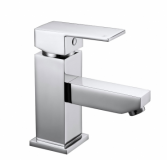 Cube Basin Mixer Tap - Aquaflow