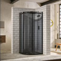 Frontline Aquaglass+ Sphere One Door Tinted Quadrant Shower Enclosure 900mm