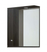 Frontline Aquapure Range 1 Avola Grey 606mm Mirror, Cabinet and Light