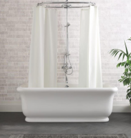 BC Designs Senator Cian Solid Surface Freestanding Bath, 1804 x 850mm