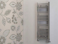 Biava Chrome Towel Rail 360mm x 400mm - Eastbrook