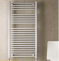 Biava Chrome Square Towel Rail 600mm x 400mm - Eastbrook
