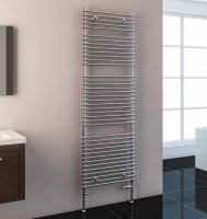 Biava Chrome Tube On Tube Towel Rail 600mm x 400mm - Eastbrook