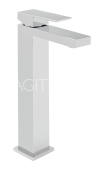Sagittarius Blade Extended Monobloc Basin Mixer with Waste