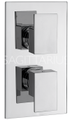 Sagittarius Blade Concealed Thermostatic Valve 2 Way Diverter