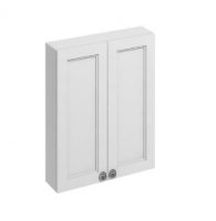 Burlington 60cm Matt White Double Door Unit