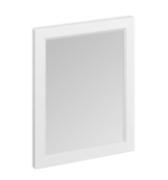 Burlington 60cm x 75cm Matt White Framed Mirror
