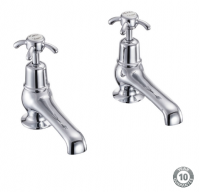 "Burlington Anglesey 5"" Basin Pillar Taps - AN2"