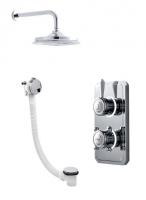 Classic 1910 Digital Shower -Wall Mounted  Head & Bath Filler - Standard (HP/Combi)