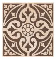 Devonstone Brown 331mm x 331mm Feature Floor Tile