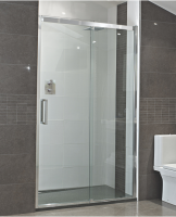 Decem Sliding Door Shower Enclosure  - 1200mm - Alcove Install - Roman Showers