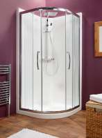 Kubex Eclipse Range Shower Pod - 835mm - Double Door Quadrant