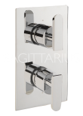 Sagittarius Eclipse Concealed Thermostatic Valve 2 Way Diverter