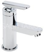 Sagittarius Eclipse Monobloc Basin Mixer with Sprung Waste