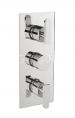 Sagittarius Eclipse Concealed Thermostatic Valve 3 Way Diverter