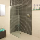 Roman Showers Embrace Wetroom Corner Panel