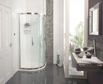 Roman Showers Embrace Single Door Quadrant 800 x 800mm