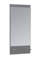 Frontline Aquatrend 400mm Dust Grey Mirror and Shelf