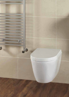 Frontline Emme Wall Hung WC with Soft Close Seat