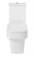 Frontline Medici Flush to Wall WC with Soft Close Seat