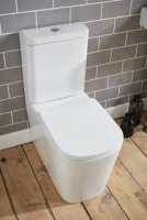 Frontline Modo Flush to Wall WC with Soft Close Seat