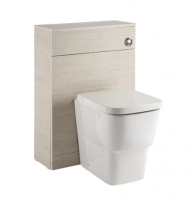 Royo Vitale 600mm WC Unit in Light Oak