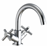 Fusion X Head Monobloc Basin Tap - Aquaflow
