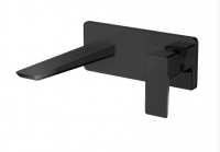 Nero Wall Mounted Basin Mixer - Black  - HBS-BLACK248