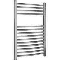 700 x 500mm Chrome Curved Ladder Towel Rail