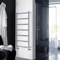 Hudson Reed Eton Heated Chrome Towel Rail 1200 x w450mm