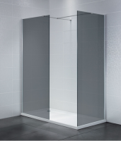 Frontline Identiti2 800mm Smoked 8mm Glass Walk-in Shower Enclosure