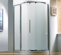 Kudos Original - 1270mm x 900mm - Offset One Door Quadrant Shower Enclosure